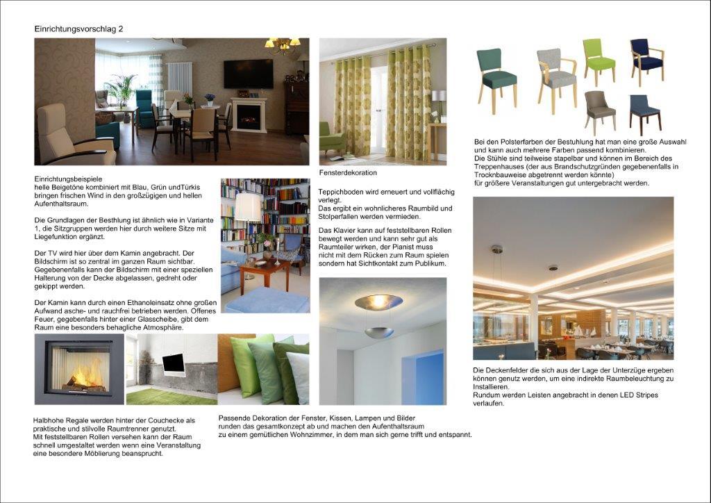 konzept entwurfsplanungen seniorenresidenz raum in. Black Bedroom Furniture Sets. Home Design Ideas