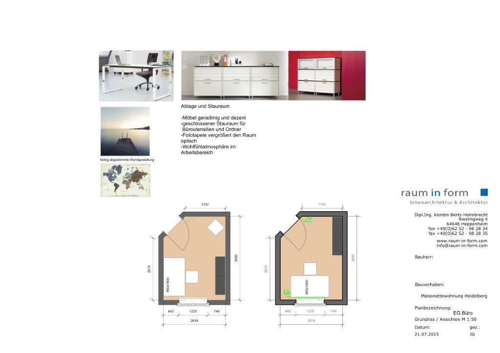 Innenarchitektur heidelberg for Innenarchitektur hda