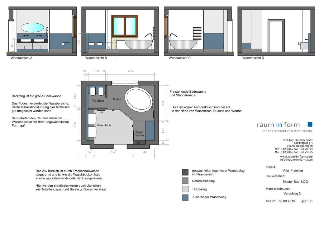 konzept- & entwurfsplanungen teil1 - raum in form, Innenarchitektur ideen