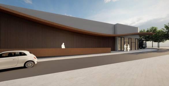 91 Raum In Form Innenarchitektur Architektur Konzeption Erweiterung Supermarkt