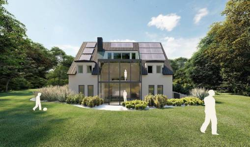 2 Raum In Form Innenarchitektur Architektur Kerstin Bertz Visualisierung Neubau 11 (1)