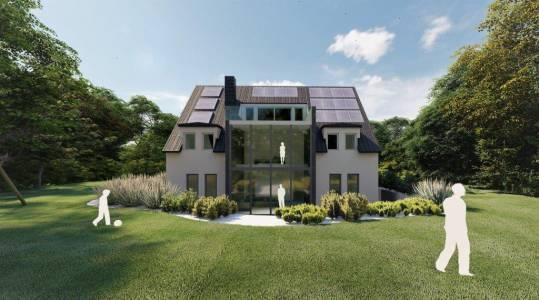7 Raum In Form Innenarchitektur Architektur Kerstin Bertz Visualisierung Neubau