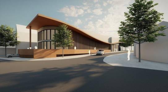 9-raum In Form Innenarchitektur Architektur Konzeption Erweiterung Supermarkt