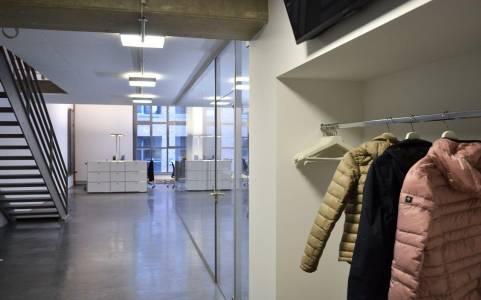 Eingangsbreich Garderobe