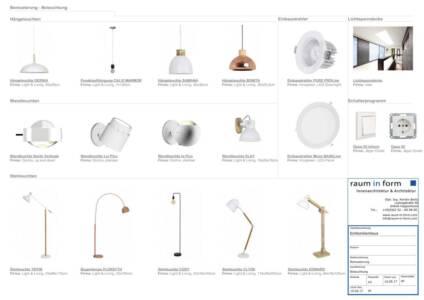 K1024 Moodboard Beleuchtung Und Elektro