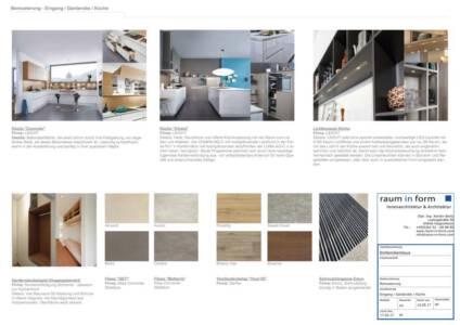 K1024 Moodboard Eingang-Garderobe-Küche