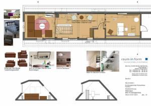 Konzeptplanung Raum In Form Innenarchitektur Architektur Kerstin Bertz Fachwerkhaus Frankfurt 1 24.07.2015