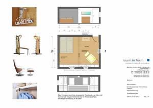 Konzeptplanung Raum In Form Innenarchitektur Architektur Kerstin Bertz Fachwerkhaus Frankfurt 3 24.07.2015