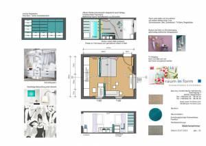 Konzeptplanung Raum In Form Innenarchitektur Architektur Kerstin Bertz Fachwerkhaus Frankfurt 4 24.07.2015