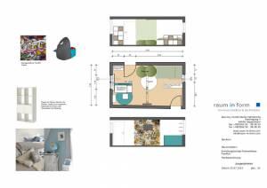 Konzeptplanung Raum In Form Innenarchitektur Architektur Kerstin Bertz Fachwerkhaus Frankfurt 5 24.07.2015