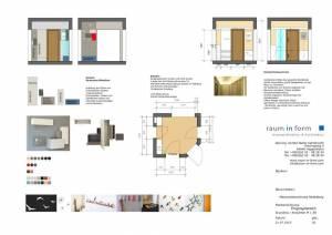 Konzeptplanung Raum In Form Innenarchitektur Architektur Kerstin Bertz Maisonette Heidelberg 1 CAD 22.07.2015