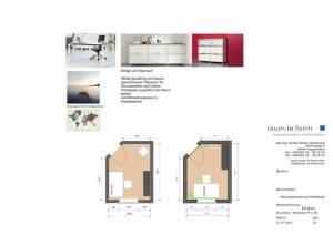 Konzeptplanung Raum In Form Innenarchitektur Architektur Kerstin Bertz Maisonette Heidelberg 3 CAD 22.07.2015