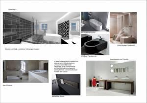 Konzeptplanung Raum In Form Innenarchitektur Architektur Kerstin Bertz  Villa Frankfurt 10 Bad EG 02.09.2015
