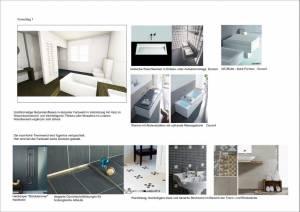 Konzeptplanung Raum In Form Innenarchitektur Architektur Kerstin Bertz  Villa Frankfurt 2 Bad EG 02.09.2015 Bad EG 02.09.2015