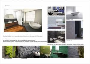 Konzeptplanung Raum In Form Innenarchitektur Architektur Kerstin Bertz  Villa Frankfurt 6 Bad EG 02.09.2015