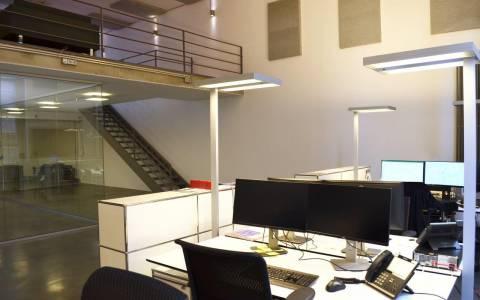 Schreibtisch Beleuchtung