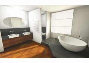 Raum-in-form Innenarchitektur Architektur Visualisierung Bad Vorschlag-3 Pers-1
