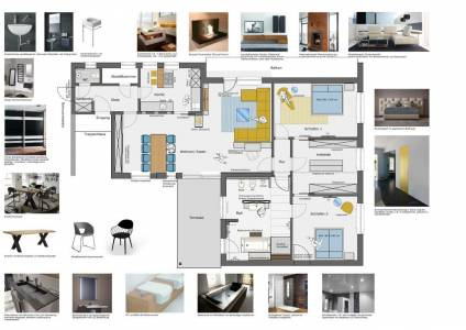 Raum In Form Innenarchitektur Und Architektur, Kerstin Bertz, Plan (3)