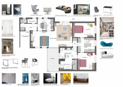 Raum In Form Innenarchitektur Und Architektur, Kerstin Bertz, Plan (4)
