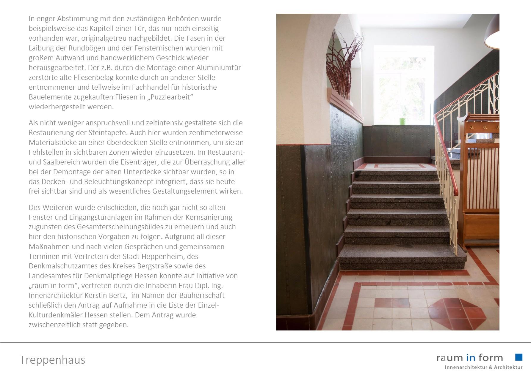 Innenarchitektur & Architektur - raum in form