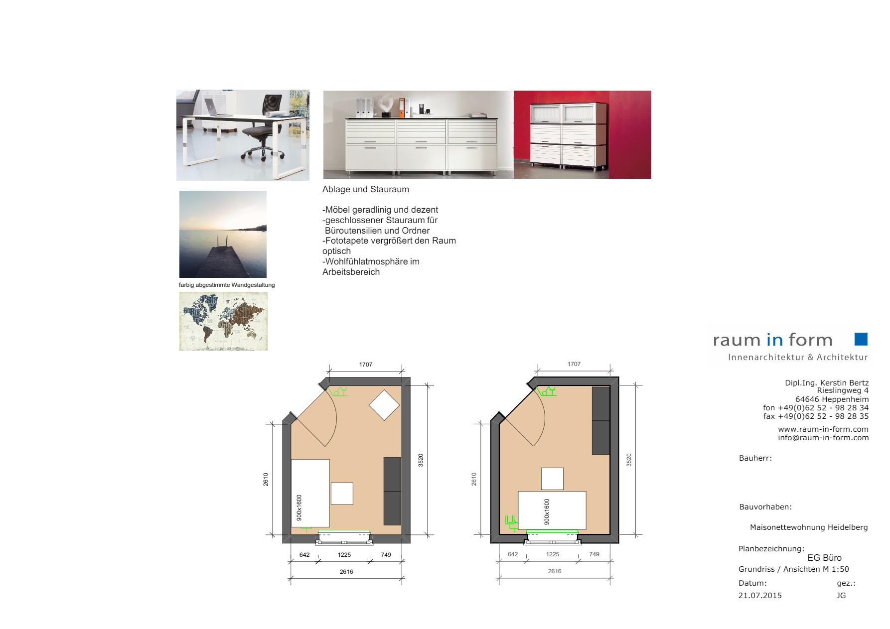 Innenarchitektur Heidelberg broschüre maisonette heidelberg raum in form innenarchitektur